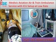 India Based Medical Air Ambulance Service in Varanasi at Low Fare