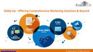 Giddy Up - Offering Comprehensive Marketing Solutions & Beyond