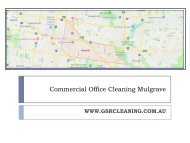 Commercial Office Cleaning Mulgrave