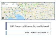 GSR Commercial Cleaning Services Richmond