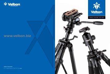 Velbon Product  Catalogue 2018/2019