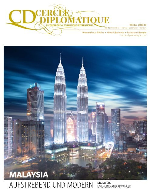 CERCLE DIPLOMATIQUE - issue 04/2018