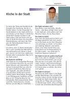 Rundbrief 82 - Kirche in der Stadt - Page 3