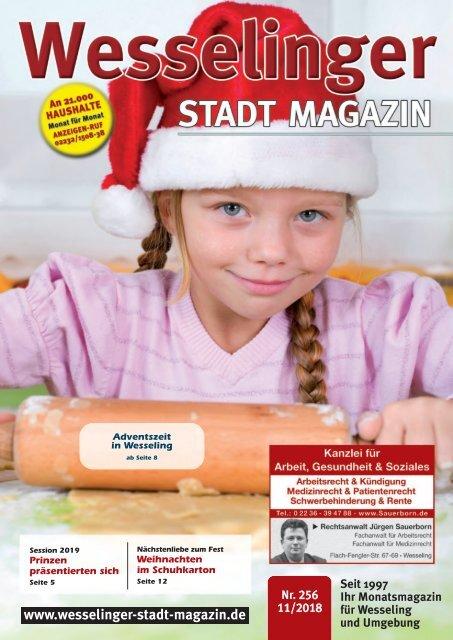 Wesselinger Stadt Magazin November 2018