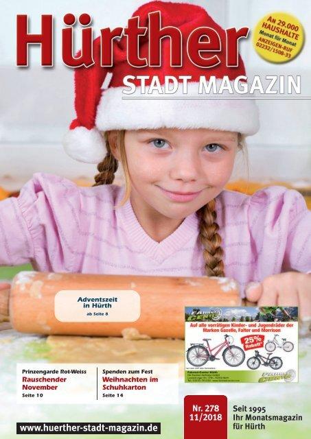 Hürther Stadt Magazin November 2018
