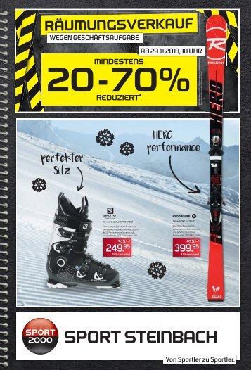 Sport Steinbach Preishelden Ski 2018