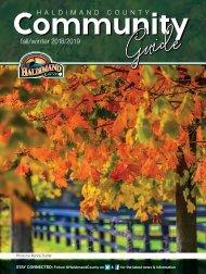 Haldimand County Community Guide Fall 2018