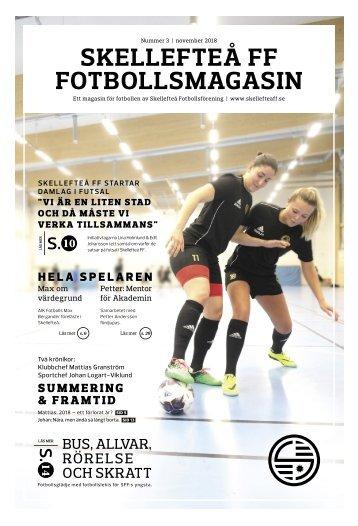 Skellefteå FF Fotbollsmagasin – 2018 #3