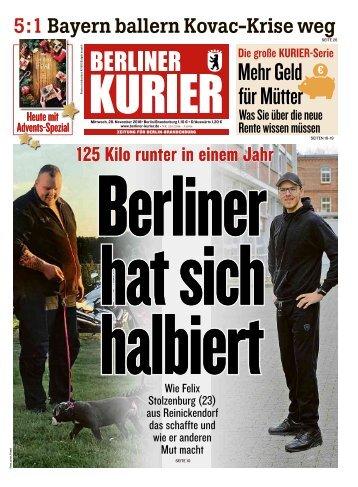 Berliner Kurier 28.11.2018