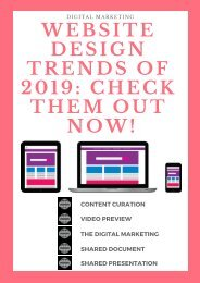 Website Design Trends of 2019_ Check Them Out Now!