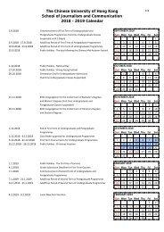 2018-19 Calendar-Teaching