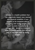 Simple Steps To Help You Lose That Weight For Good - Page 2