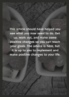 Simple Steps To Help You Lose That Weight For Good - Page 7