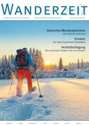 Wanderzeit, Ausgabe Dezember 2018