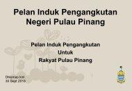 Pelan Induk Pengangkutan  Untuk Rakyat Pulau Pinang