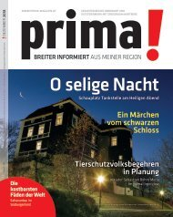 prima! Magazin – Ausgabe Dezember 2018