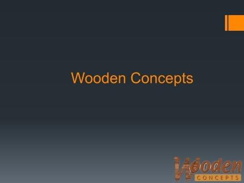 Wooden Pill Holder