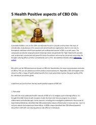 7 CBD Oil for autism