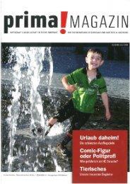 prima! Magazin - Ausgabe Juli 2009