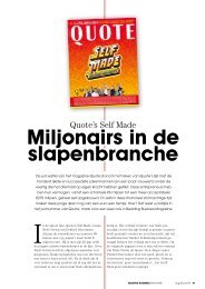 Quote's Self Made Miljonairs