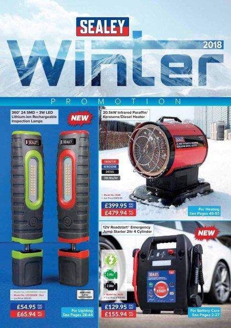 Sealey VS4120 Ethylene Glycol Antifreeze Tester Twin-Rotor