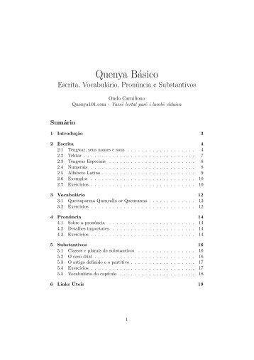 Curso De Quenya Pdf Download