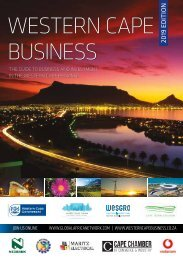 Western Cape Business 2019 edition