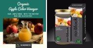 Organic Apple cider Vinegar Juice - Sharrets Nutritions