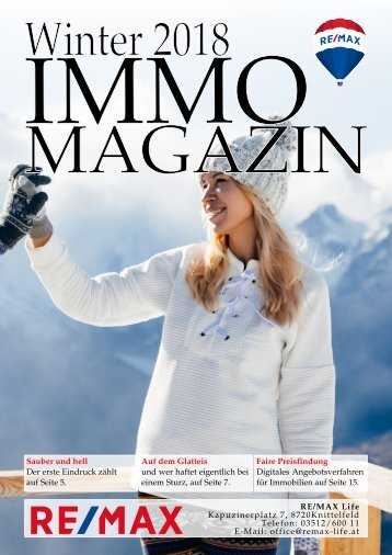 Immomagazin Life - Winter 2018