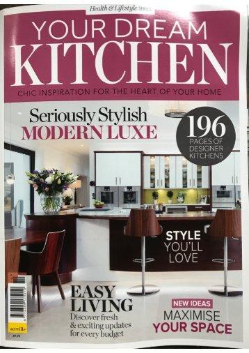 You dream kitchen coverage