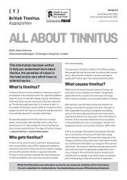 All about tinnitus Ver 2.2