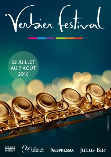 Verbier Festival - Avant-Programme 2016