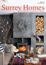 Surrey Homes | SH50 | December 2018 | Health & Beauty supplement inside