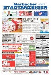 Marbacher Stadtanzeiger KW 48/2018
