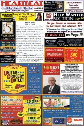 Heartbeat Christian News - COLT - 2nd Qtr 2017