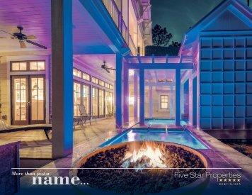Five Star Properties Destin/30A - More than just a name...