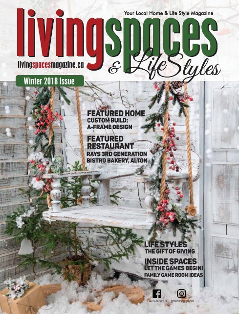 Winter 2018 Issue-LivingSpaces and Lifestyles Magazine