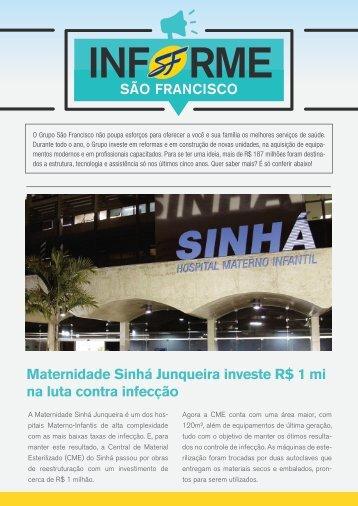 Informe São Francisco - Ed. 01