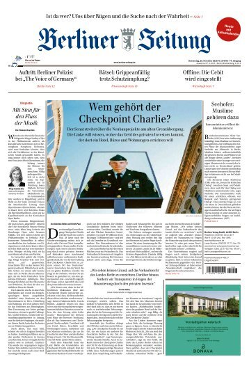 Berliner Zeitung 29.11.2018