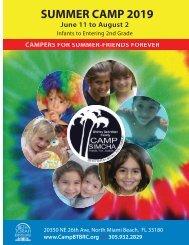 CAMP SIMCHA BROCHURE - 2019-2010