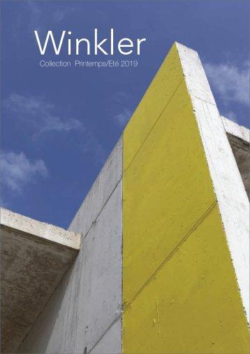 Catalogue Winkler Printemps-Été 2019