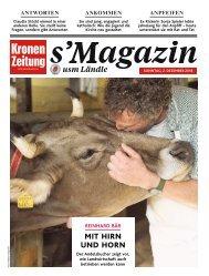 s'Magazin usm Ländle, 2. Dezember 2018