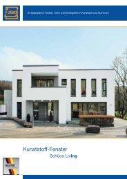 Kunststoff-Fenster Schüco Living