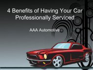 4 Benefits of Having Your Car Professionally Serviced