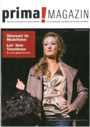 prima! Magazin - Ausgabe Oktober 2009