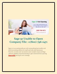 Sage 50 would not Open #Sage 50 not Opening
