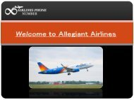 Allegiant Airlines Phone Number | Call Now +1-844-550-9444