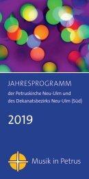 Musik in Petrus 2019