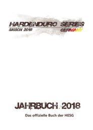 HardEnduroSeries Germany Jahrbuch 2018