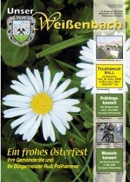 Gemeindezeitung 1/2009 - Weißenbach bei Liezen